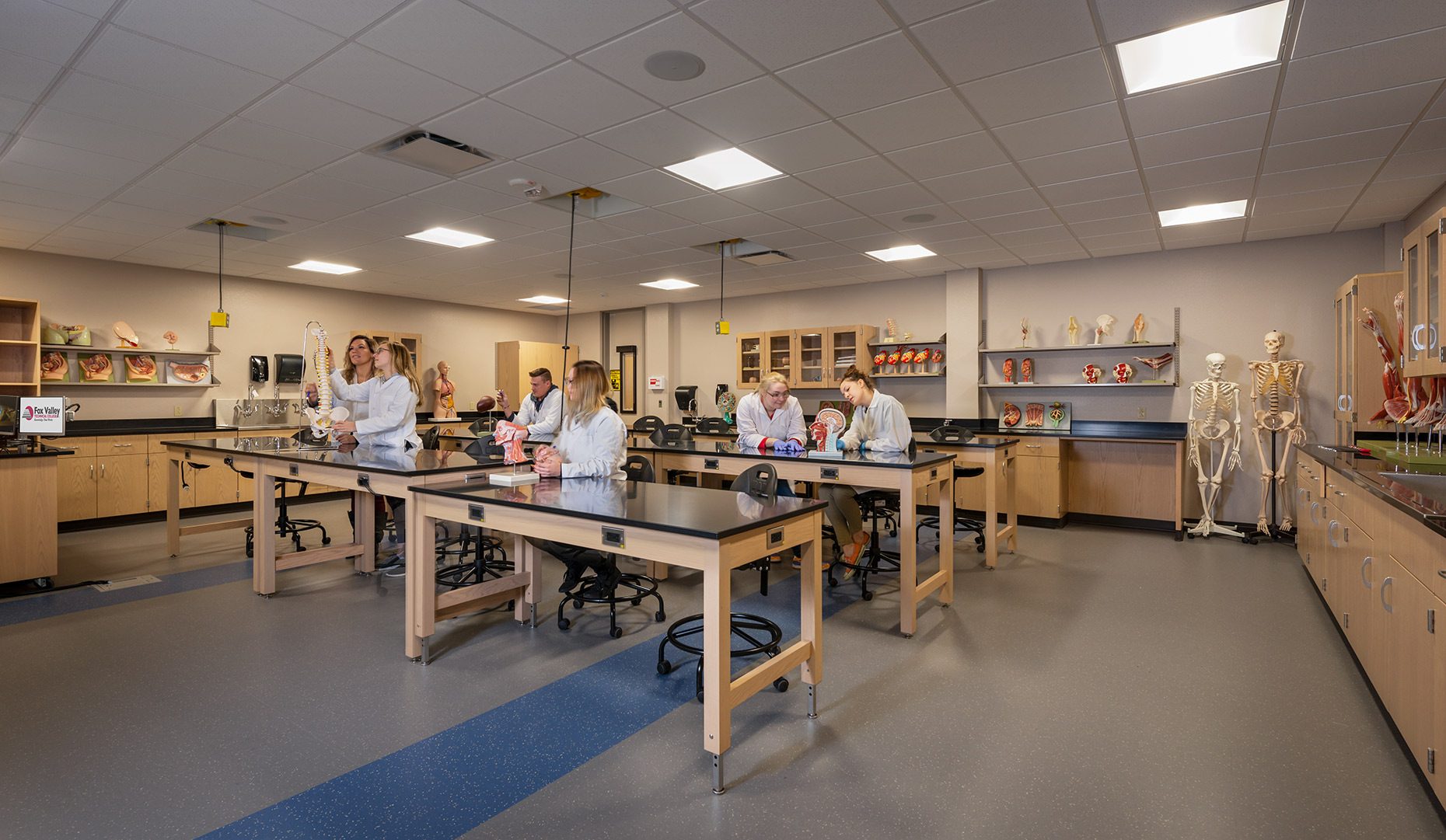 Fox Valley Technical College classroom