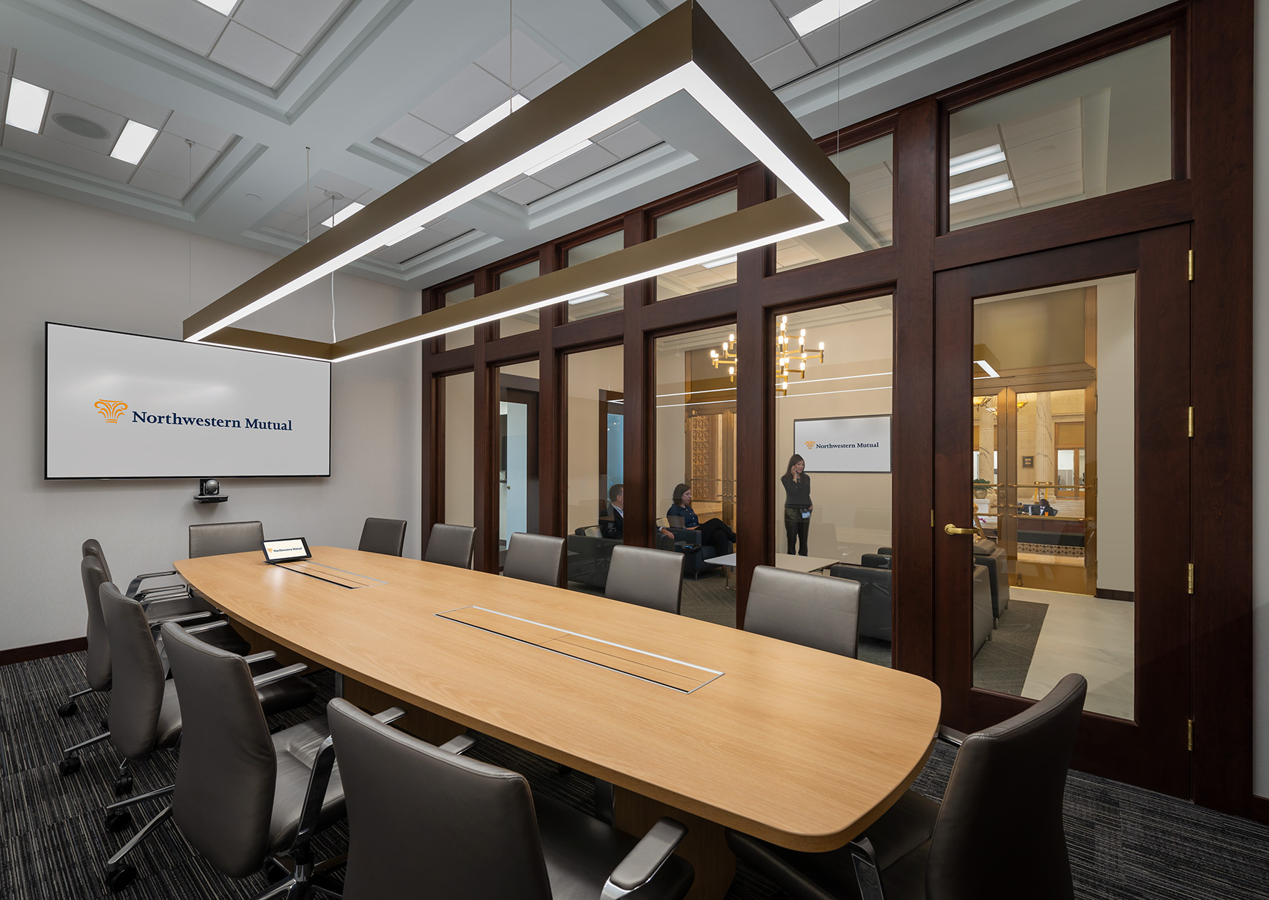 Northwestern Mutual conference room
