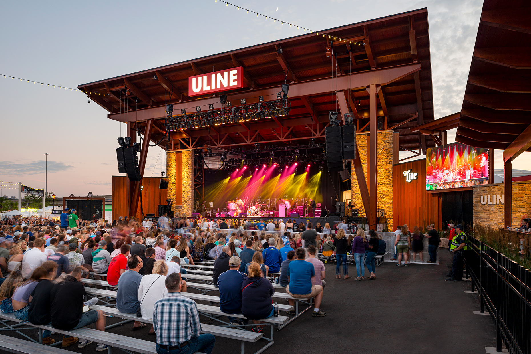 Uline Warehouse State at Summerfest in Milwaukee