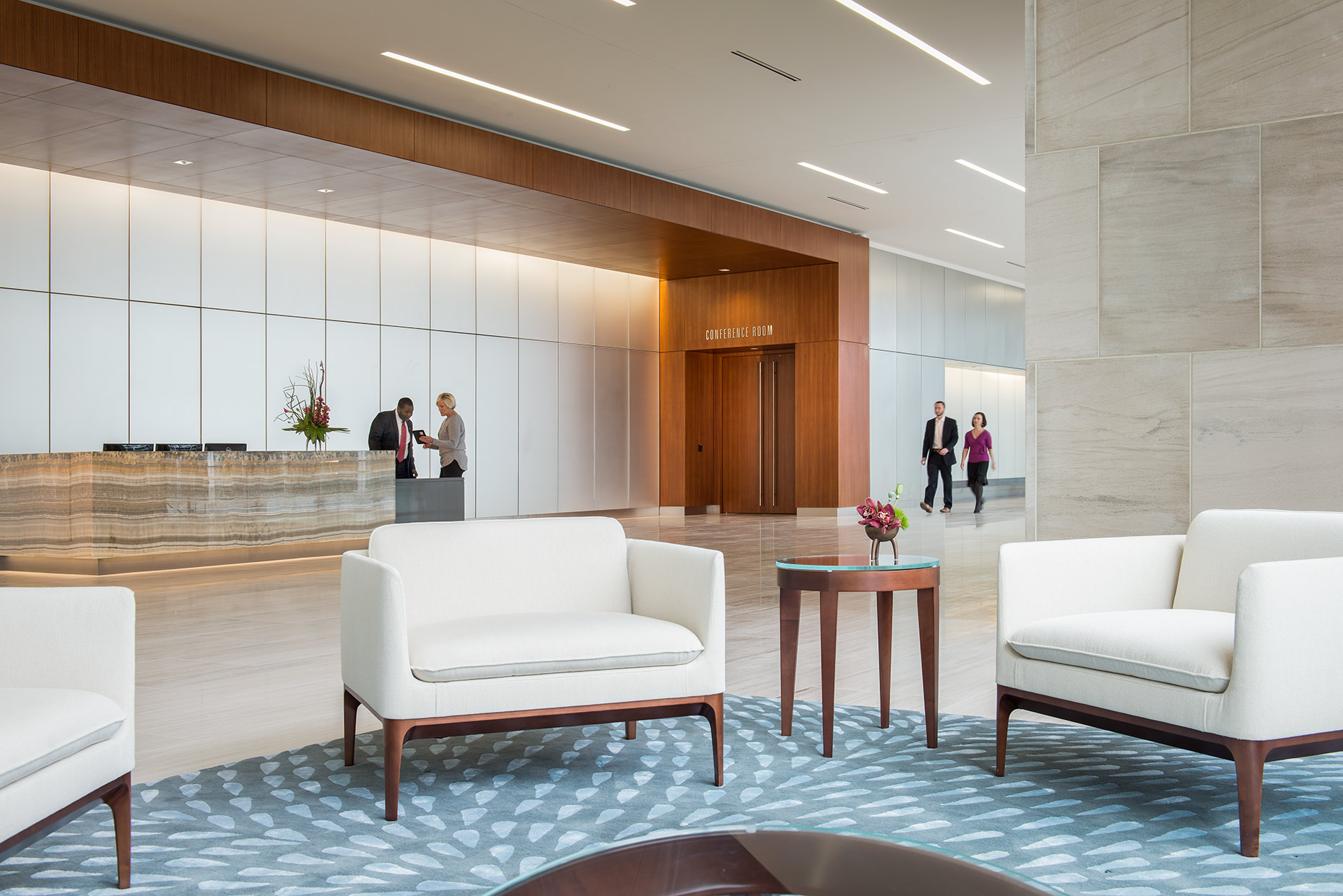 833 E Michigan lobby, Irgens