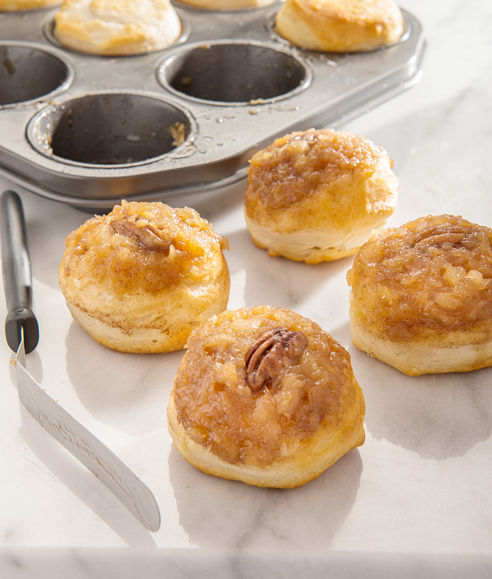 Pineapple-Upside-down-Biscuits